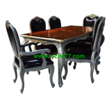 Dining Table set Baroque 03